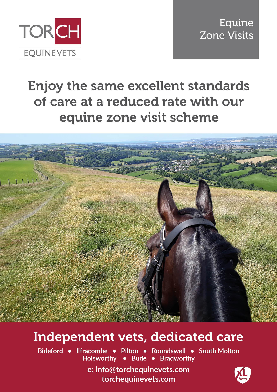 Torch Equine Vets - Equine Zone Visits leaflet